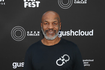 Mike Tyson Gushcloud Talent Agency Opening Party