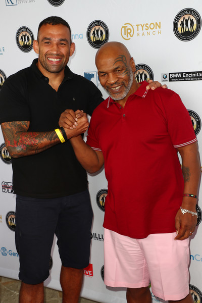 Mike Tyson Celebrity Golf Tournament In Support Of Standing United - Arrivals