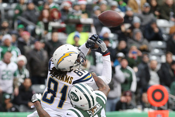Mike Williams Los Angeles Chargers vNew York Jets