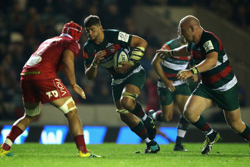 Mike Williams Leicester Tigers v Scarlets - Heineken Champions Cup