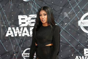 Mila J Celebs Arrive at the 2015 BET Awards