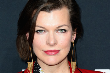 Mila Jovovich SAINT LAURENT At The Palladium - Arrivals