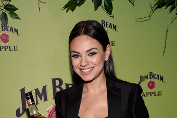 Mila Kunis Celebs Attend Jim Beam's 'Apple Eve'