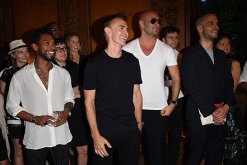 Milan Vukmirovic GQ Party for Jim Moore and Milan Menswear Fashion Week Spring/Summer 2016