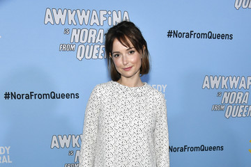 Milana Vayntrub Comedy Central's Awkwafina is Nora From Queens Premiere Party