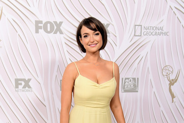 Milana Vayntrub FOX Broadcasting Company, Twentieth Century Fox Television, FX and National Geographic 69th Primetime Emmy Awards After Party - Arrivals