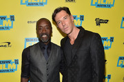 "Director Don Cheadle and producer Daniel Wagner attend the screening of ""Miles Ahead"" during the 2016 SXSW Music, Film + Interactive Festival at Paramount Theatre on March 16, 2016 in Austin, Texas."