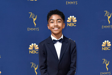 Miles Brown 70th Emmy Awards - Arrivals