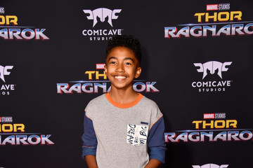 Miles Brown Premiere of Disney and Marvel's 'Thor: Ragnarok' - Arrivals