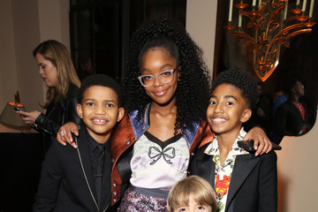 Miles Brown Marsai Martin Entertainment Weekly Celebrates Screen Actors Guild Award Nominees at Chateau Marmont sponsored by Maybelline New York - Inside