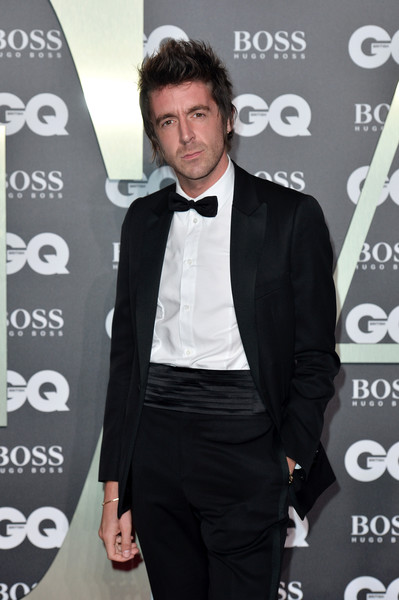 GQ Men Of The Year Awards 2019 - Red Carpet Arrivals [suit,tuxedo,formal wear,premiere,white-collar worker,blazer,outerwear,tie,carpet,facial hair,red carpet arrivals,miles kane,gq men of the year awards,england,london,tate modern]