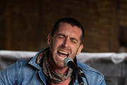 Miles Kane performs at Camden Lock on July 25, 2020 in London, England.