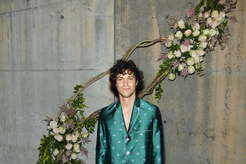 Miles Mcmillan Gucci Bloom, Fragrance Launch Event at MoMA PS1 in New York
