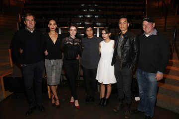 Miles Millar Ally Ioannides AMC and CAPE Celebrate 'Into the Badlands' with Cast and Executive Producers at the Japanese American National Museum in Los Angeles