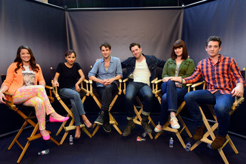 Miles Teller Christian Madsen 'Divergent' Cast Gathers at Comic-Con