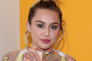 Miley Cyrus The 'Crisis in Six Scenes' World Premiere Screening Is Held in New York City