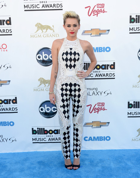 Miley Cyrus Singer/Actress Miley Cyrus  arrives at the 2013 Billboard Music Awards at the MGM Grand Garden Arena on May 19, 2013 in Las Vegas, Nevada.