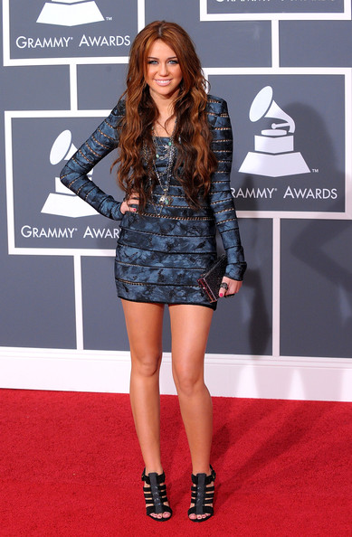 Miley Cyrus - 52nd Annual GRAMMY Awards - Arrivals