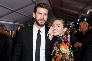 Miley Cyrus The World Premiere of Marvel Studios' 'Thor: Ragnarok'