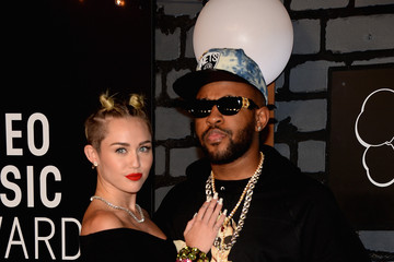 Miley Cyrus Mike WiLL Made It Arrivals at the MTV Video Music Awards — Part 4