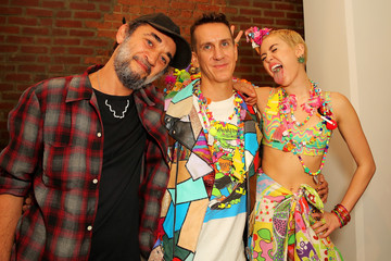 Miley Cyrus Jeremy Scott - Backstage - MADE Fashion Week Spring 2015