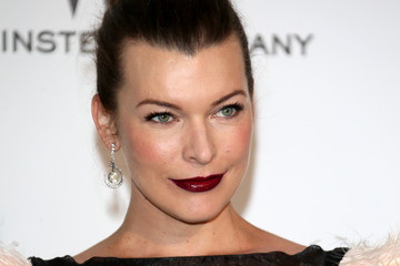 Milla Jovovich Arrivals at the Cinema Against AIDS Gala