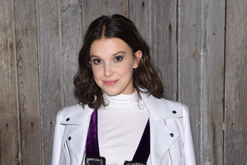Millie Bobby Brown Calvin Klein Collection - Arrivals - February 2018 - New York Fashion Week