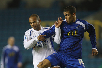 Danny Gordon Millwall v Staines Town - FA Cup 2nd Round Replay