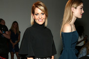 TV personality Candace Cameron Bure attends Front Row at Milly - September 2016 - New York Fashion Week at Art Beam on September 9, 2016 in New York City.