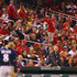 Fans yell at Ryan Braun #8 of the Milwaukee Brewers after he strikes out against the St. Louis Cardinals in the ninth inning at Busch Stadium on September 17, 2014 in St. Louis, Missouri.  The Cardinals beat the brewers 2-0.