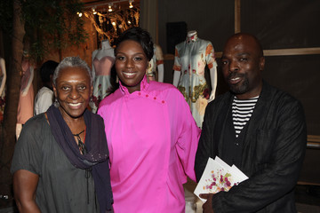 """Bethann Hardison Mimi Plange S/S 2012 Collection: """"A Flower in the Desert  Presentation"""""""