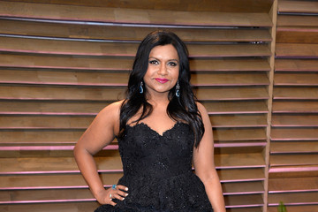 Mindy Kaling Stars at the Vanity Fair Oscar Party