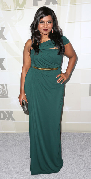 Mindy Kaling Actress Mindy Kaling attends the Fox Broadcasting Company, Twentieth Century Fox Television And FX Celebrates Their 2012 Emmy Nominees at Soleto on September 23, 2012 in Los Angeles, California.
