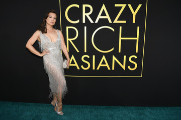 Ming-Na Wen Warner Bros. Pictures' 'Crazy Rich Asians' Premiere - Red Carpet