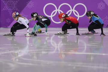 Minjeong Choi Short Track Speed Skating - Winter Olympics Day 11