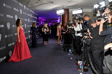 Minka Kelly The 2017 InStyle and Warner Bros. 73rd Annual Golden Globe Awards Post-Party - Red Carpet