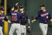 Jim Thome and Joe Mauer Photos Photo