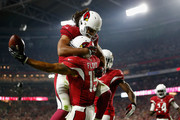Larry Fitzgerald and Michael Floyd Photos Photo