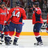 Brooks Orpik Alex Ovechkin Photos - Alex Ovechkin #8 of the Washington Capitals celebrates with teammate Brooks Orpik #44 after Orpik scored against the Minnesota Wild during the second period at Verizon Center on February 26, 2016 in Washington, DC. - Minnesota Wild v Washington Capitals