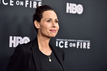 Minnie Driver L.A, Premiere Of HBO's 'Ice On Fire' - Arrivals