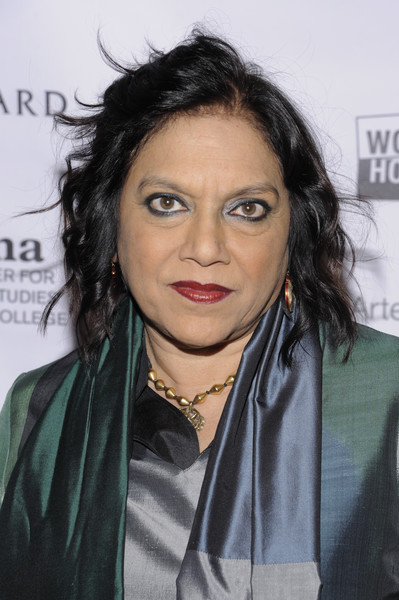 2016 Athena Film Festival Day One [hair,hairstyle,eyebrow,black hair,lip,forehead,chin,long hair,brown hair,layered hair,day one,mira nair,new york city,diana center,athena film festival]