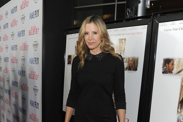 "Mira Sorvino Premiere Of Pure Flix's ""Do You Believe?"" - Red Carpet"