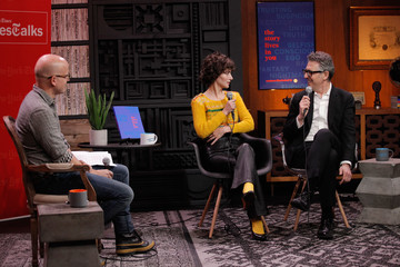 Miranda July 2018 Sundance Film Festival - Cinema Cafe With Ira Glass and Miranda July Times Talks