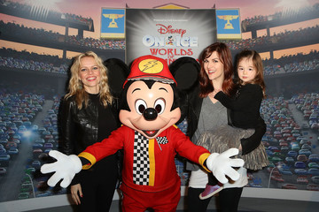Mircea Monroe Disney on Ice Presents Worlds of Enchantment Celebrity Guests (STAPLES Center Los Angeles)