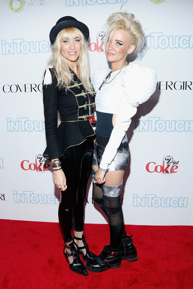 miriam nervo pictures arrivals at the icons amp idols