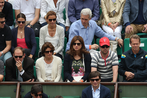 Mirka+Federer+2014+French+Open+Day+Six+D