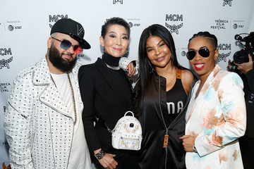 Misa Hylton Brim Corey Shapiro 2018 Tribeca Studios And MCM Sneak Preview Of Women's Hip Hop At Public Hotel (Public Arts)