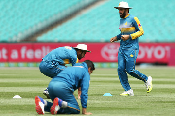 Misbah-ul-Haq Pakistan Team Training Session