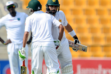 Misbah-ul-Haq Pakistan v West Indies - 2nd Test: Day One