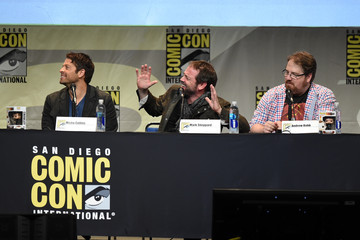 Misha Collins The 'Supernatural' Panel at Comic-Con International 2015